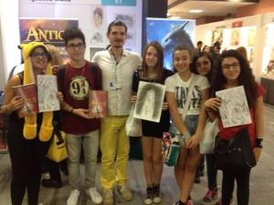 Etna Comics e gli amici di Àntica - catania